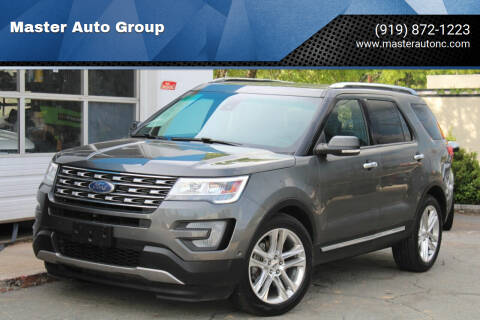 2017 Ford Explorer for sale at Master Auto Group in Raleigh NC