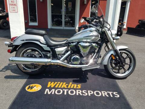 2012 Yamaha V-Star 950 Touring for sale at WILKINS MOTORSPORTS in Brewster NY