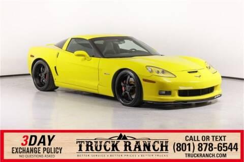 2006 Chevrolet Corvette for sale at Truck Ranch in American Fork UT