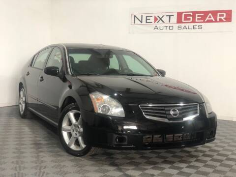 2008 Nissan Maxima for sale at Next Gear Auto Sales in Westfield IN