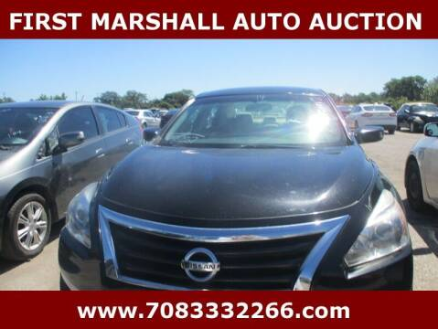 2014 Nissan Altima for sale at First Marshall Auto Auction in Harvey IL
