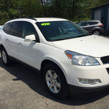 2011 Chevrolet Traverse for sale at Thompson Auto Diagnostics / Auto Sales Division in Mishawaka IN