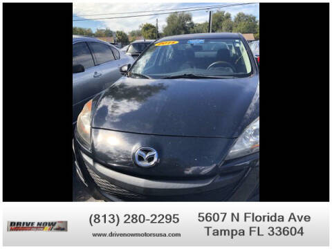 2011 Mazda MAZDA3 for sale at Drive Now Motors USA in Tampa FL