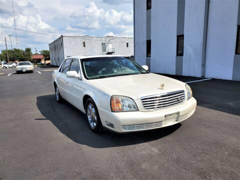 2002 Cadillac DeVille for sale at Image Auto Sales in Dallas TX
