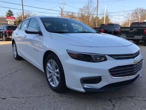 2018 Chevrolet Malibu for sale at Auto Gallery LLC in Burlington WI