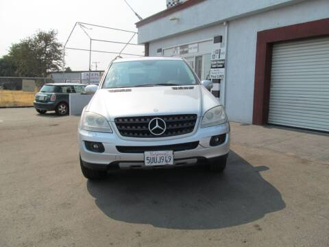2006 Mercedes-Benz M-Class for sale at Dealer Finance Auto Center LLC in Sacramento CA