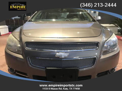 2012 Chevrolet Malibu for sale at EMPIREIMPORTSTX.COM in Katy TX