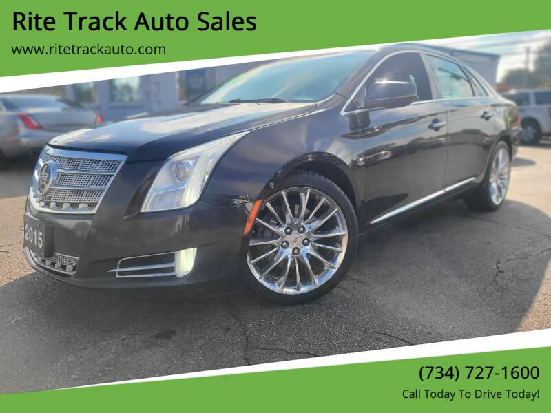 2015 Cadillac XTS for sale at Rite Track Auto Sales in Wayne MI