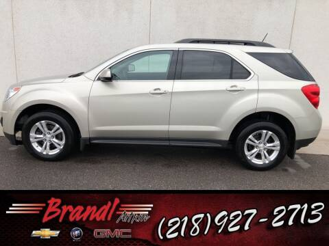 2015 Chevrolet Equinox for sale at Brandl GM in Aitkin MN