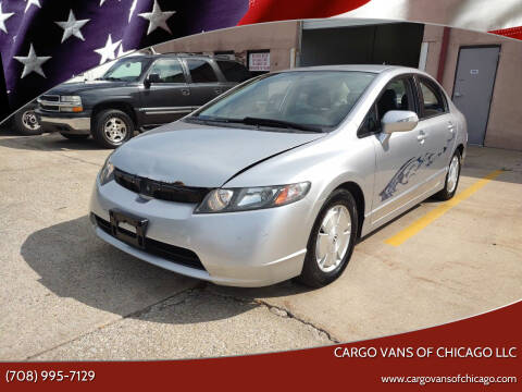2006 Honda Civic for sale at Cargo Vans of Chicago LLC in Mokena IL