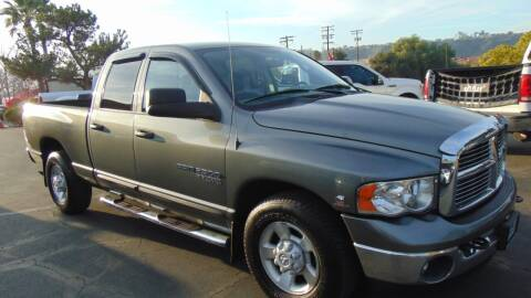 2005 Dodge Ram Pickup 2500 for sale at So Cal Performance in San Diego CA