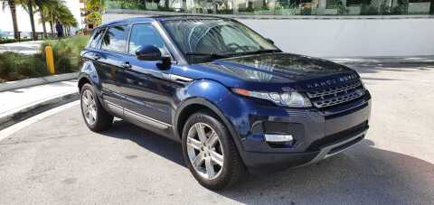 2015 Land Rover Range Rover Evoque for sale at Prestige USA Auto Group in Miami FL