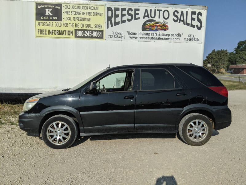 2005 Buick Rendezvous for sale at Reese Auto Sales in Pocahontas IA