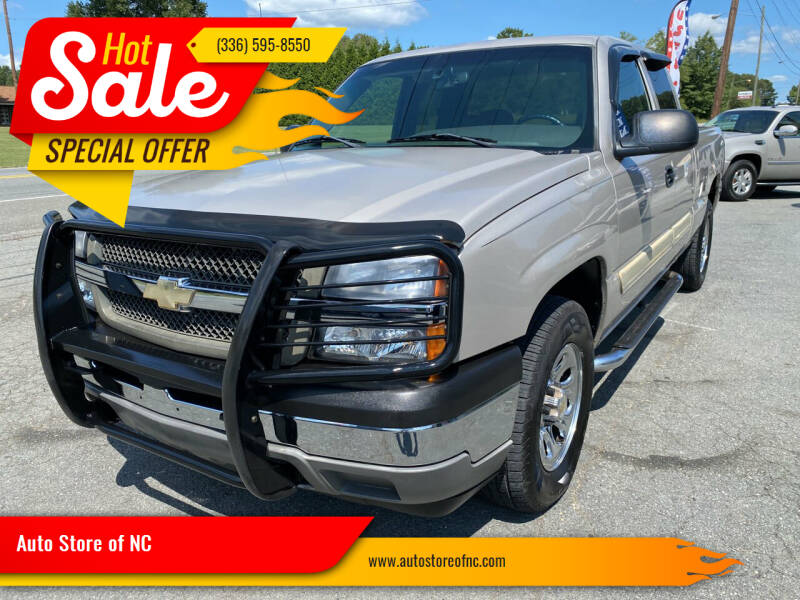 2005 Chevrolet Silverado 1500 for sale at Auto Store of NC in Walkertown NC
