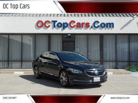2017 Buick LaCrosse for sale at OC Top Cars in Irvine CA