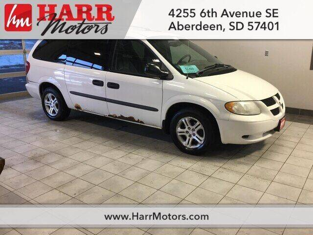 2003 Dodge Grand Caravan for sale at Harr Motors Bargain Center in Aberdeen SD