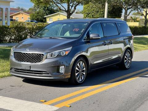 2015 Kia Sedona for sale at GTR Motors in Davie FL