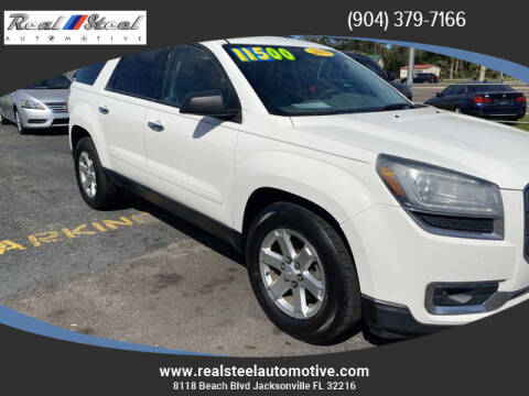 2015 GMC Acadia for sale at Real Steel Automotive in Jacksonville FL