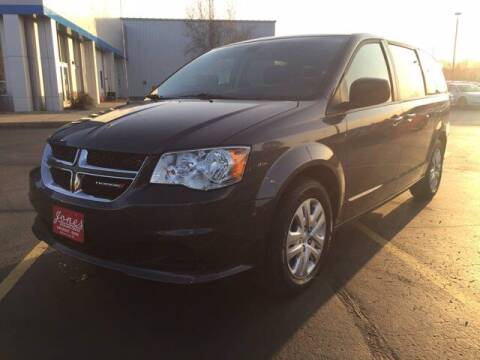 2018 Dodge Grand Caravan for sale at Jones Chevrolet Buick Cadillac in Richland Center WI