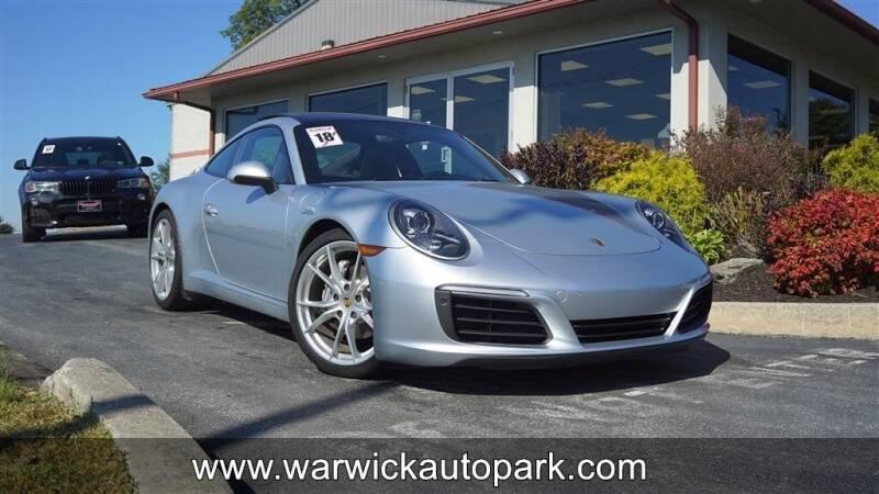 2018 Porsche 911 for sale at WARWICK AUTOPARK LLC in Lititz PA