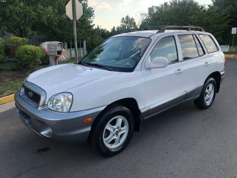 2004 Hyundai Santa Fe for sale at Dreams Auto Group LLC in Sterling VA