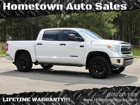 2015 Toyota Tundra for sale at Hometown Auto Sales - Trucks in Jasper AL