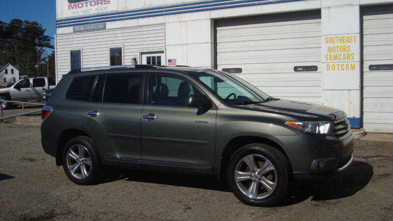 2012 Toyota Highlander for sale at Southeast Motors INC in Middleboro MA