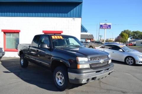 2003 Chevrolet Silverado 1500 for sale at CARGILL U DRIVE USED CARS in Twin Falls ID