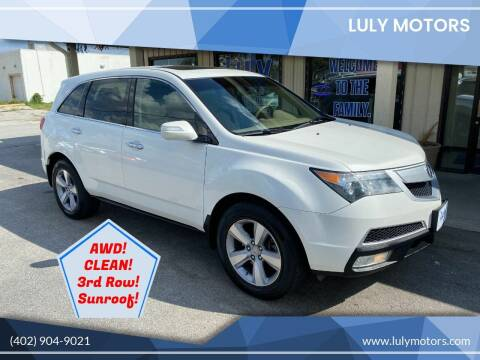 2012 Acura MDX for sale at Luly Motors in Lincoln NE
