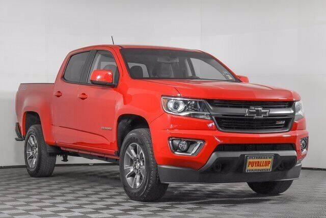 2018 Chevrolet Colorado for sale at Chevrolet Buick GMC of Puyallup in Puyallup WA