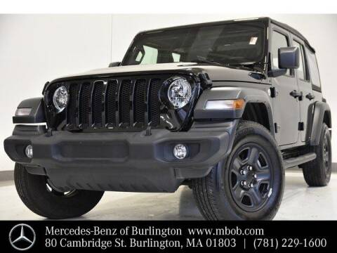 2019 Jeep Wrangler Unlimited for sale at Mercedes Benz of Burlington in Burlington MA