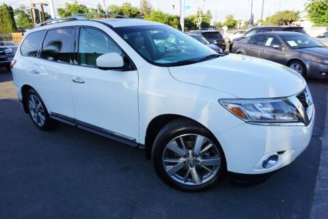 2013 Nissan Pathfinder for sale at Industry Motors in Sacramento CA