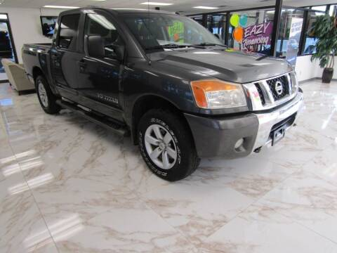2010 Nissan Titan for sale at Dealer One Auto Credit in Oklahoma City OK