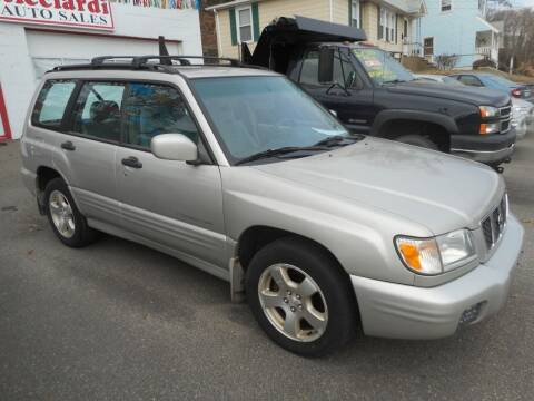 2001 Subaru Forester for sale at Ricciardi Auto Sales in Waterbury CT