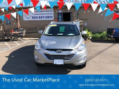 2013 Hyundai Tucson for sale at The Used Car MarketPlace in Newberg OR