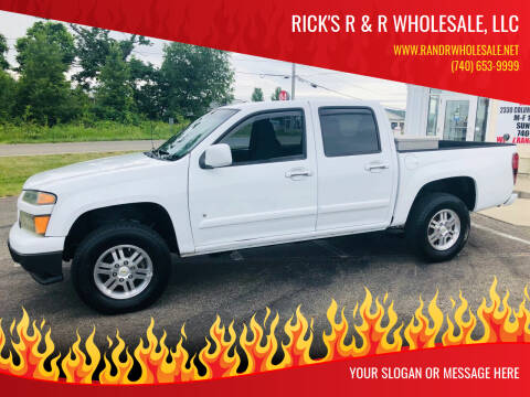 2009 Chevrolet Colorado for sale at Rick's R & R Wholesale, LLC in Lancaster OH