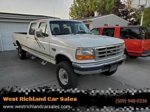 1996 Ford F-350 for sale at West Richland Car Sales in West Richland WA
