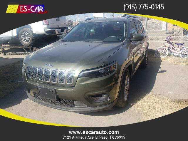 2017 Jeep Cherokee for sale at Escar Auto in El Paso TX