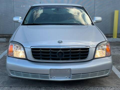2001 Cadillac DeVille for sale at Delta Auto Alliance in Houston TX