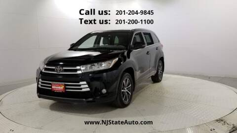 2018 Toyota Highlander for sale at NJ State Auto Used Cars in Jersey City NJ