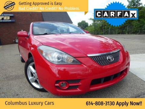 2008 Toyota Camry Solara for sale at Columbus Luxury Cars in Columbus OH