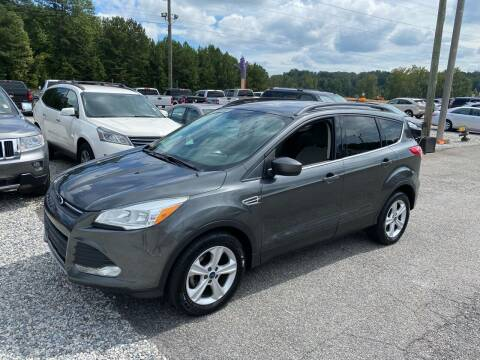 2016 Ford Escape for sale at Billy Ballew Motorsports in Dawsonville GA