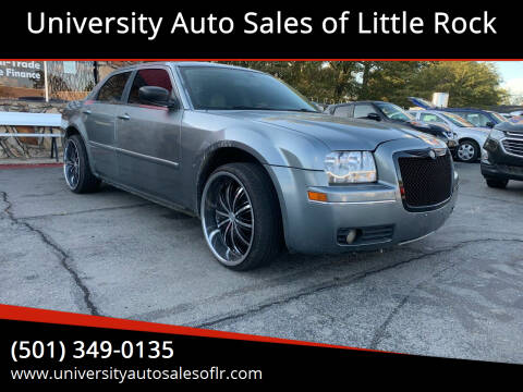 2006 Chrysler 300 for sale at University Auto Sales of Little Rock in Little Rock AR