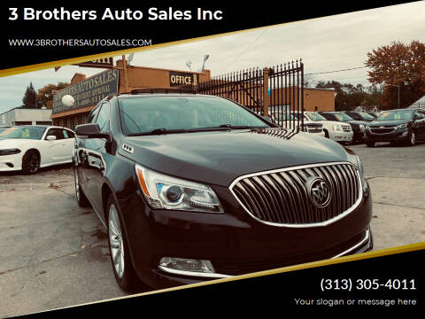 2016 Buick LaCrosse for sale at 3 Brothers Auto Sales Inc in Detroit MI