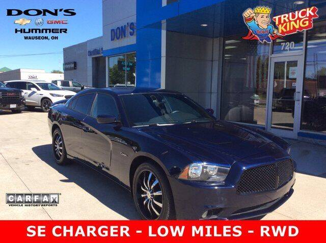 2013 Dodge Charger for sale at DON'S CHEVY, BUICK-GMC & CADILLAC in Wauseon OH