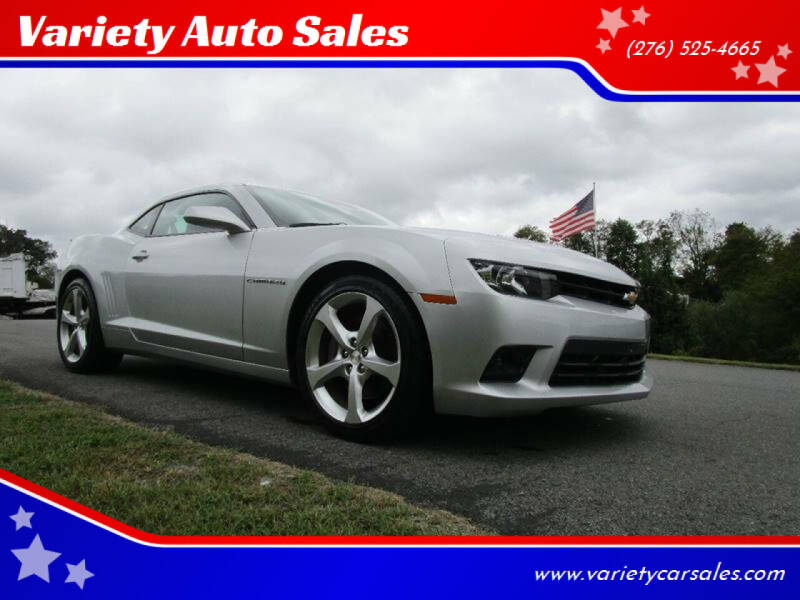 2014 Chevrolet Camaro for sale at Variety Auto Sales in Abingdon VA