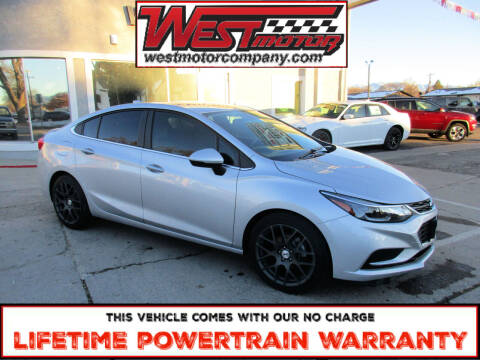 2017 Chevrolet Cruze for sale at West Motor Company in Hyde Park UT
