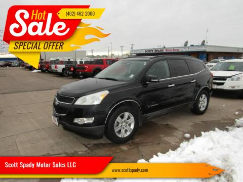 2009 Chevrolet Traverse for sale at Scott Spady Motor Sales LLC in Hastings NE