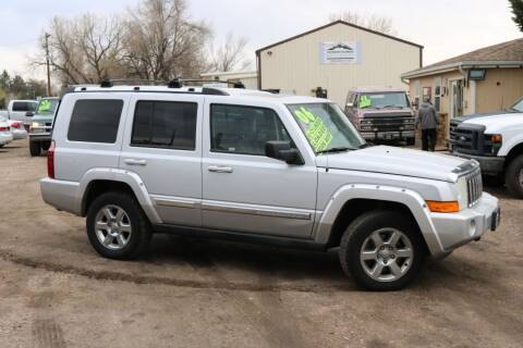 2006 Jeep Commander for sale at Northern Colorado auto sales Inc in Fort Collins CO