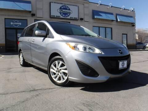 2015 Mazda MAZDA5 for sale at Platinum Auto Sales in Provo UT